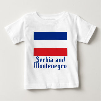 Serbia and Montenegro T Shirt