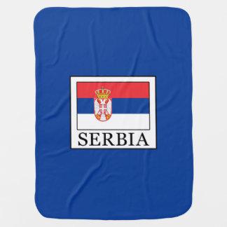 Serbia Baby Blanket