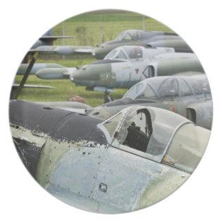 SERBIA, Belgrade. Yugoslav Aeronautical Museum Party Plate