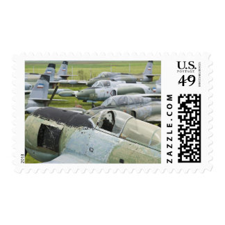 SERBIA, Belgrade. Yugoslav Aeronautical Museum Postage Stamps