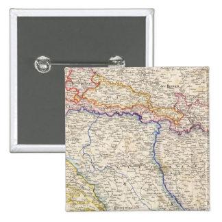 Serbia, Bosnia Pin Cuadrado