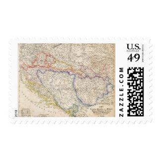 Serbia, Bosnia Postage Stamp