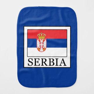 Serbia Burp Cloth
