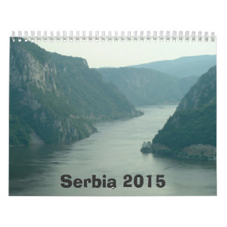 Serbia Calendar - 2015