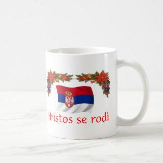 Serbia Christmas Classic White Coffee Mug