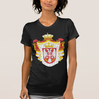 Serbia coat of arma shirt