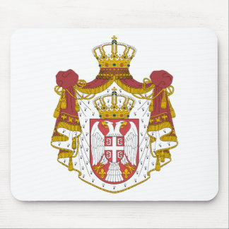 Serbia Coat of Arms Mouse Pad