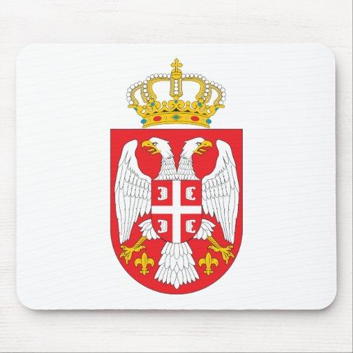 Serbia  Coat of Arms Mousepad
