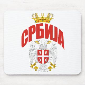 Serbia Cyrillic Mouse Pads