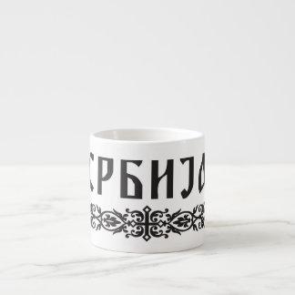Serbia Design Mug 6 Oz Ceramic Espresso Cup