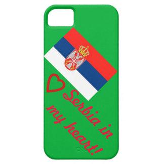 ¡Serbia en mi corazón! iPhone 5 Carcasa