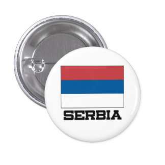 Serbia Flag Buttons