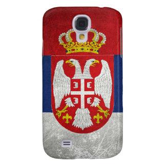 Serbia Flag Galaxy S4 Cover