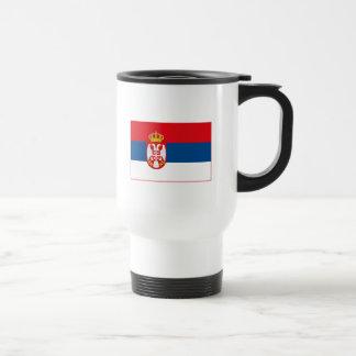 Serbia Flag (light) Mug