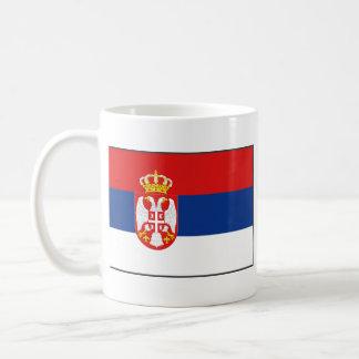 Serbia Flag ~ Map Mug