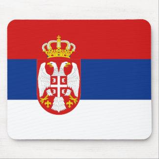 Serbia Flag Mousepad