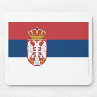 Serbia Flag Mouse Pads