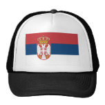 Serbia Flag Trucker Hat