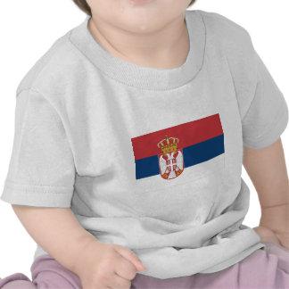 Serbia Flag Tees