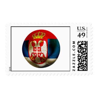 Serbia Football Postage