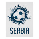 Serbia Football Posters