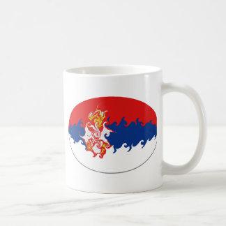 Serbia Gnarly Flag Mug