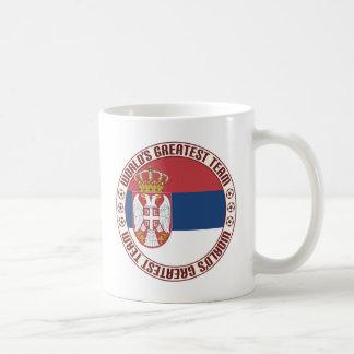 Serbia Greatest Team Classic White Coffee Mug