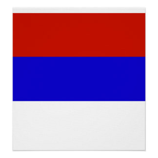 Serbia High quality Flag Posters