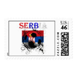 Serbia logo flag Srbija gifts for soccer coaches Postage Stamp