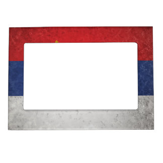 Serbia Magnetic Picture Frame