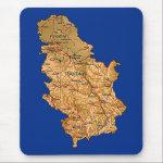 Serbia Map Mousepad