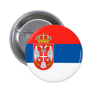 Serbia Pinback Button
