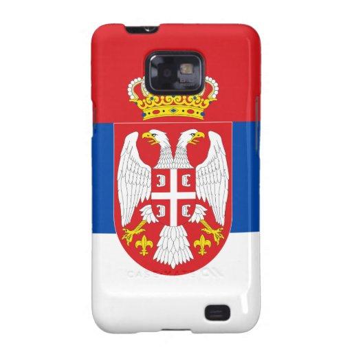 Serbia Samsung Galaxy S2 Funda