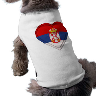 Serbia Serbian flag Doggie Tee Shirt