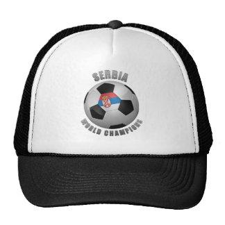 SERBIA SOCCER CHAMPIONS HATS