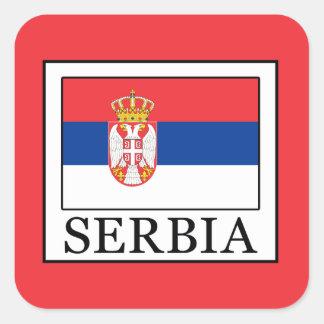 Serbia Square Sticker