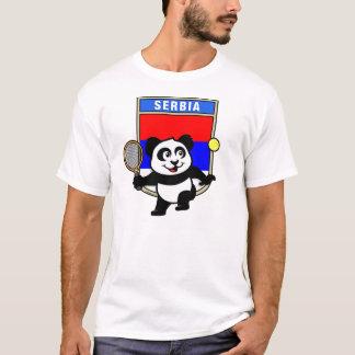 Serbia Tennis Panda T-Shirt