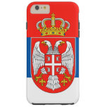 Serbia Tough iPhone 6 Plus Case