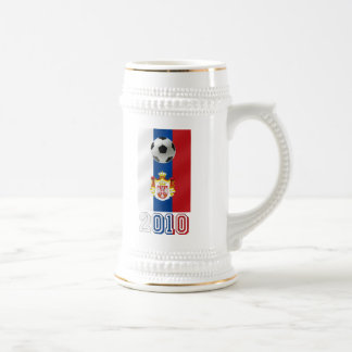 Serbia White Eagles 2010 world cup gifts 18 Oz Beer Stein