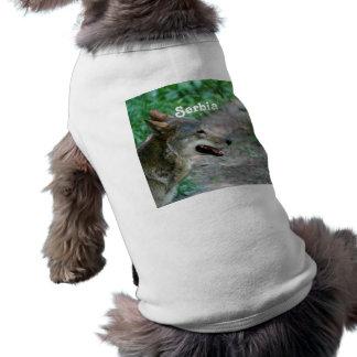 Serbia Wolf Doggie Shirt