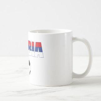 Serbia world cup 2010 t-shirt classic white coffee mug