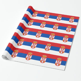 Serbia Wrapping Paper