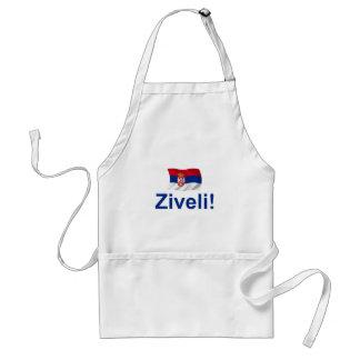 Serbia Ziveli! Adult Apron