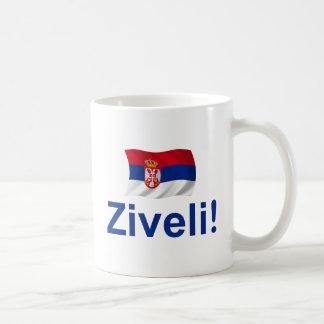 Serbia Ziveli! Classic White Coffee Mug