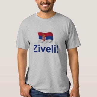 ¡Serbia Ziveli! (Déjenos viven de largo!) Playeras