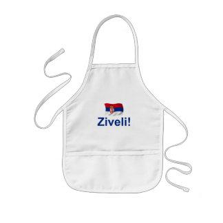 Serbia Ziveli! Kids' Apron