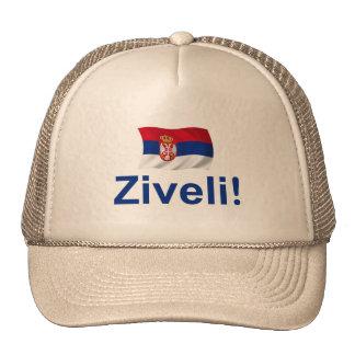 Serbia Ziveli! Trucker Hats