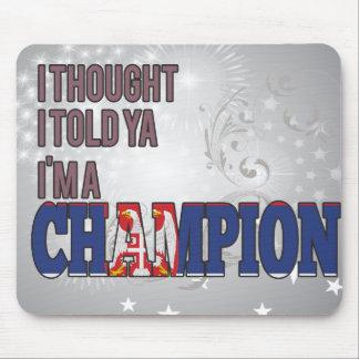 Serbian and a Champion Mousepads