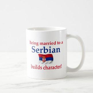 Serbian Builds Character Classic White Coffee Mug