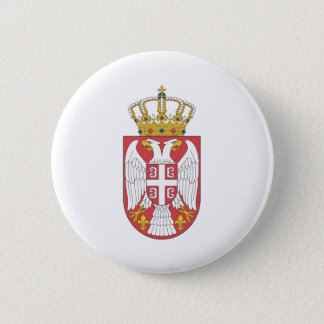 Serbian coat of arms button